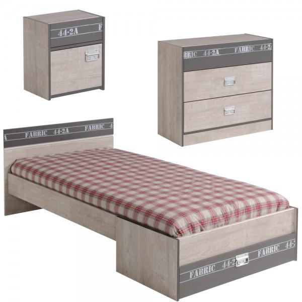 Parisot Kinderzimmer Set Fabric 3teilig Homeline1 Der Möbel